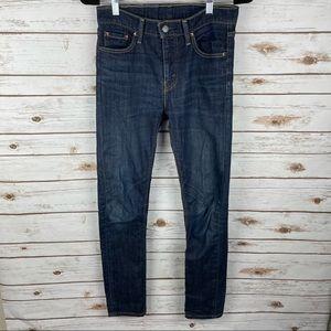 LEVI'S 510 Dark Wash Skinny Fit Jeans sz. 28x32